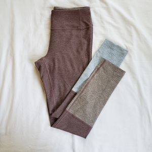 OUTDOOR VOICES Two Tone Leggings